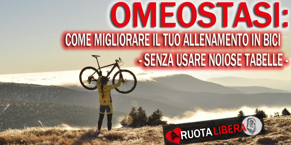 omeostasi allenamento ciclismo