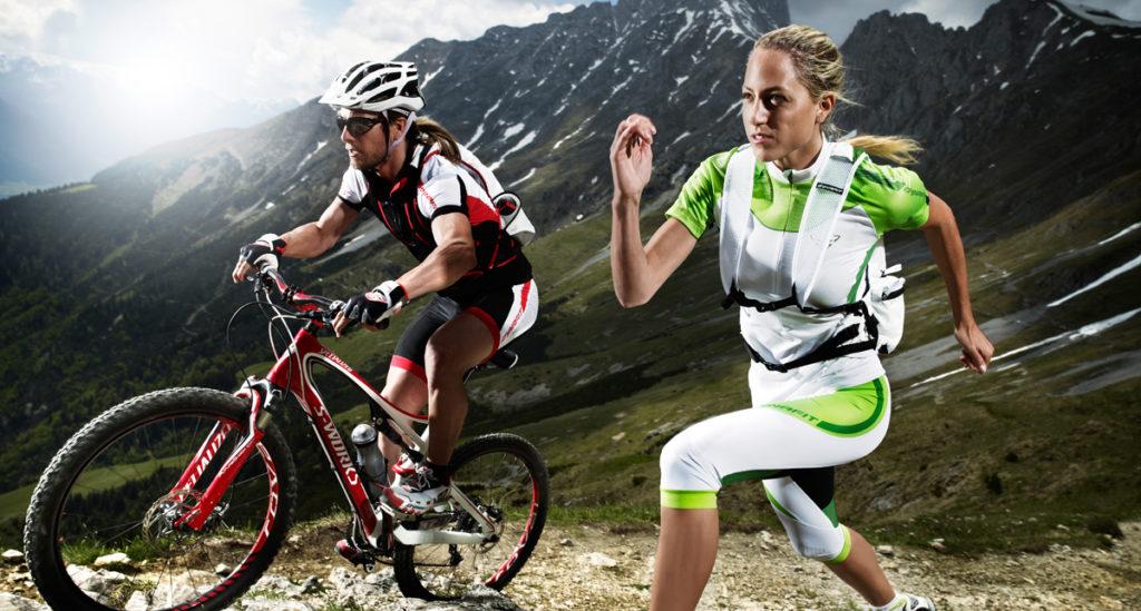 Ciclismo vs Podismo