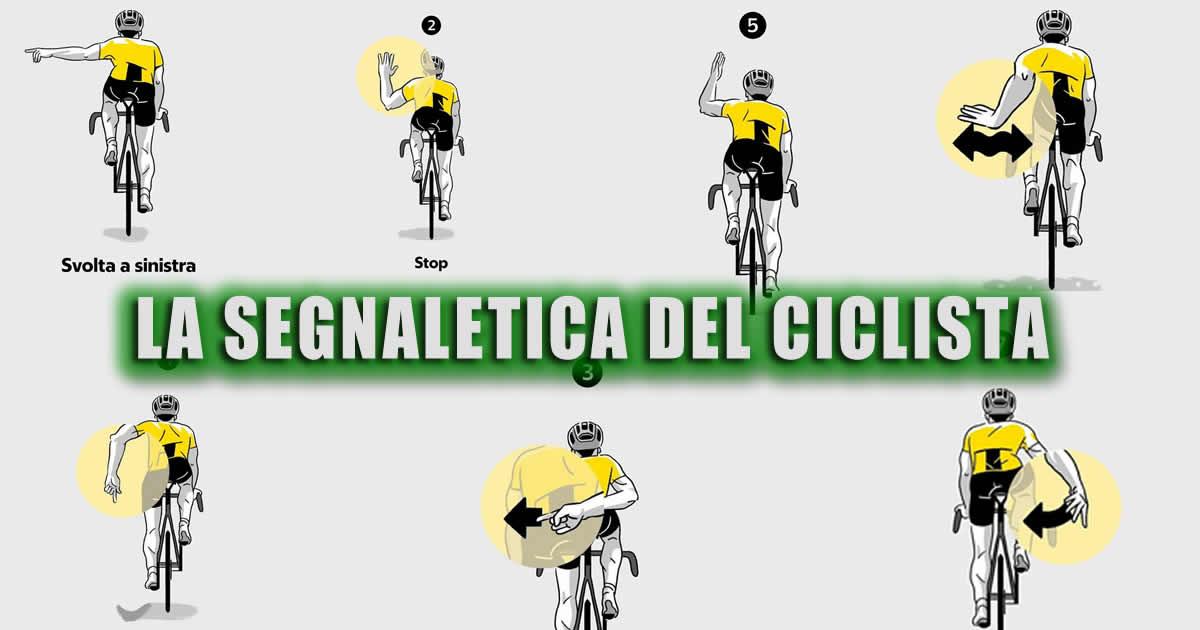 La Segnaletica del Ciclista
